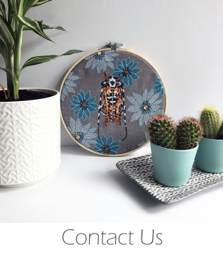 Kirsty Freeman Design - Contact - Embroidered Home Decor, Embroidered Gifts, Embroidered Animals, Handmade Gifts, Handmade Home Decor, Handmade Cushions, Embroidered Cushions, Embroidered Wall Art, Embroidery Hoop Art, Embroidered Badges.jpg