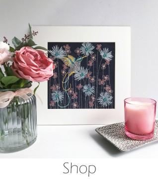 Kirsty Freeman Design - Shop - Embroidered Home Decor, Embroidered Gifts, Embroidered Animals, Handmade Gifts, Handmade Home Decor, Handmade Cushions, Embroidered Cushions, Embroidered Wall Art, Embroidery Hoop Art, Embroidered Badges.jpg