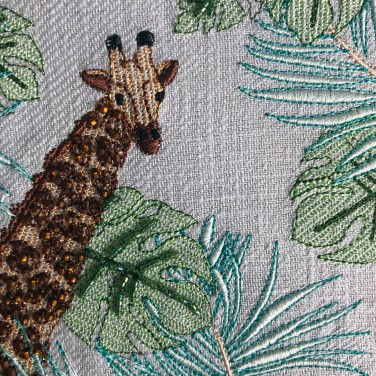 Kirsty Freeman Design - Wall Art, Art for Sale, Contemporary Embroidery, Modern Embroidery, Embroidery Art, Wall Decor, Kitchen Wall Art, Bedroom Wall Decor, Modern Wall Art, Giraffe Art, Wall Art Decor 3