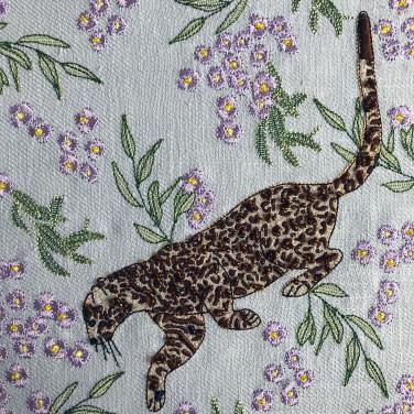 Kirsty Freeman Design - Wall Art, Leopard Art, Art for Sale, Contemporary Embroidery, Modern Embroidery, Embroidery Art, Wall Decor, Kitchen Wall Art, Bedroom Wall Decor, Modern Wall Art, Wall Art Decor 2