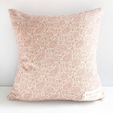 Kirsty Freeman Design - Embroidered Cushion, Animal Pillow, Cat Cushion, Decorative Pillow, Handmade Cushion, Cat Pillow, Fancy Cushion, Linen Cushion, Throw Pillow 1