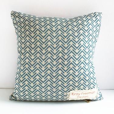 Kirsty Freeman Design - Embroidered Cushion, Animal Pillow, Giraffe Cushion, Decorative Pillow, Handmade Cushion, Giraffe Pillow, Fancy Cushion, Linen Cushion, Throw Pillow 5