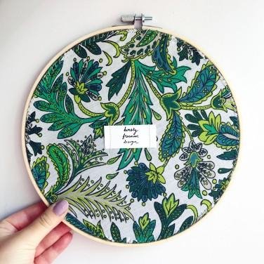 Kirsty Freeman Design - Embroidery Hoop Art, Wall Art, Highland Cow Art, Art for Sale, Contemporary Embroidery, Modern Embroidery, Embroidery Art, Wall Decor, Embroidery Hoop, Bedroom Wall Decor, Modern Wall Art, Wall Art Decor 6