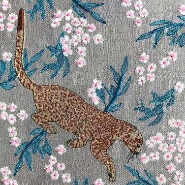 Kirsty Freeman Design - Wall Art, Leopard Art, Art for Sale, Contemporary Embroidery, Modern Embroidery, Embroidery Art, Wall Decor, Kitchen Wall Art, Bedroom Wall Decor, Modern Wall Art, Wall Art Decor 9
