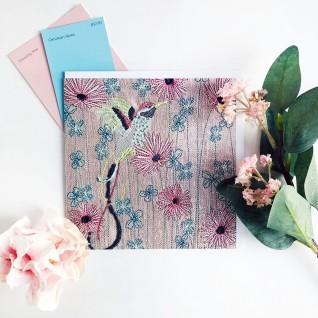 Kirsty Freeman Design - Greetings Card, Animal Card, Flower Card, Blank Card, Unique Card, Birthday Card, Thank You Card, Square Card, Occasions Card, Hummingbird Card, Bird Card 4