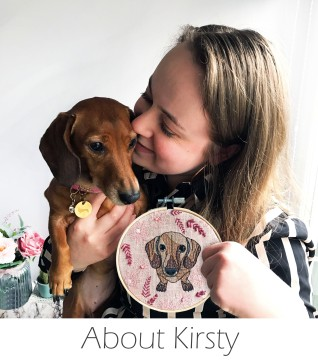 Kirsty Freeman Design - About - Embroidered Home Decor, Embroidered Gifts, Embroidered Animals, Handmade Gifts, Handmade Home Decor, Handmade Cushions, Embroidered Cushions, Embroidered Wall Art, Embroidery Hoop Art, Embroidered Badges.jpg